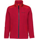 VAUDE Racoon Fleece Jacket Kids indian red